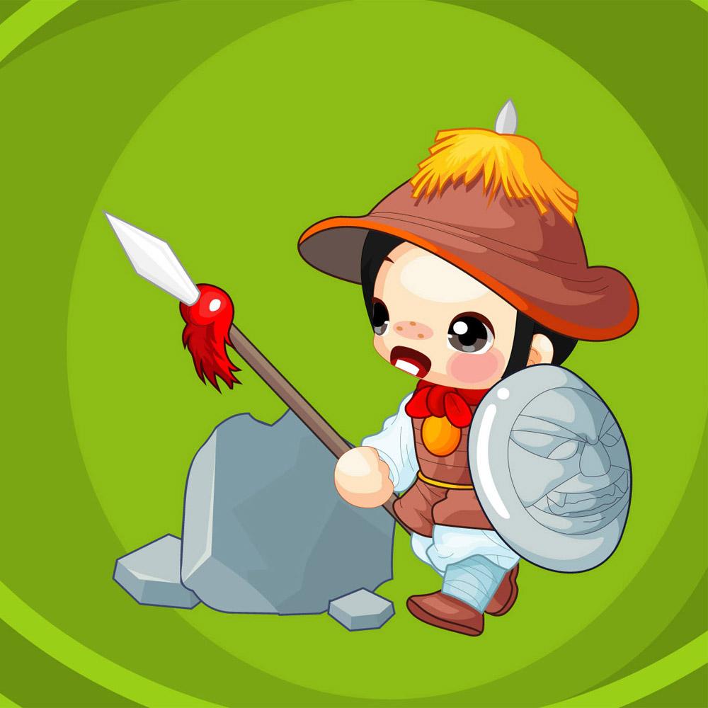 Un guerrero oriental