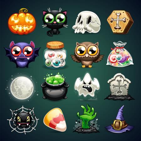 Íconos de Halloween