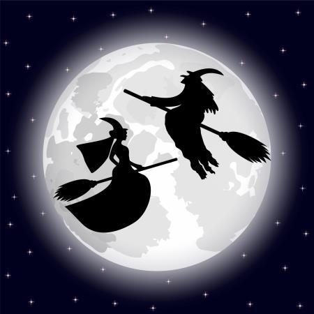 Las brujas de Halloween