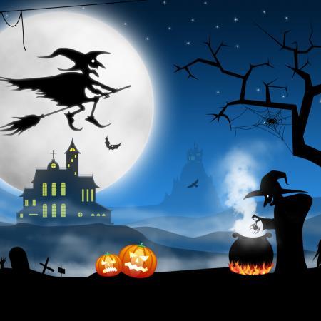 Noche perfecta para Halloween